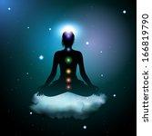 yoga  eps10 vector | Shutterstock .eps vector #166819790