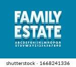 vector trendy logo family...   Shutterstock .eps vector #1668241336