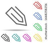 clip multi color style icon....