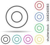 circular notation multi color...