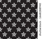 seamless star pattern. stars... | Shutterstock .eps vector #1668288940