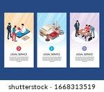 isometric lawyer vertical...   Shutterstock .eps vector #1668313519