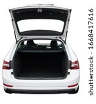 Open Clean Trunk Of Suv Car...