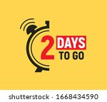 2 days to go last countdown...   Shutterstock .eps vector #1668434590