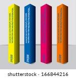 vector pattern for web design ... | Shutterstock .eps vector #166844216