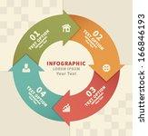 info graphic element | Shutterstock .eps vector #166846193