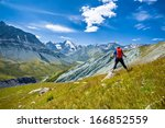 landscape in the altai mountains | Shutterstock . vector #166852559
