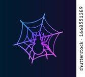 spider on the web nolan icon....
