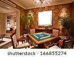 entertainment center and rec...   Shutterstock . vector #166855274