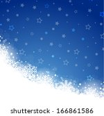 christmas background | Shutterstock .eps vector #166861586