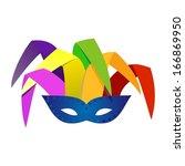 mask  | Shutterstock .eps vector #166869950