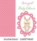 baby shower | Shutterstock .eps vector #166874660