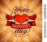 Happy Valentine S Day Design In ...