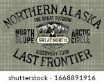 alaska north slope last... | Shutterstock .eps vector #1668891916