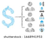hatch mosaic based on staff... | Shutterstock .eps vector #1668941953