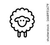 Sheep Icon Vector Illustration...