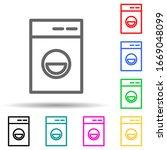 washing machine multi color...