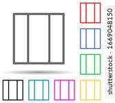 three folding window multi...
