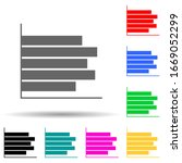 bar chart multi color style...