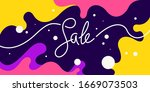 bright colorful sale poster... | Shutterstock .eps vector #1669073503