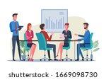 business people meeting in...   Shutterstock .eps vector #1669098730