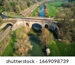 Aerial View Of Dundas Aqueduct  ...