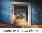 Abandoned Building And The Door ...
