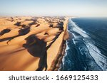 Place Where Namib Desert And...