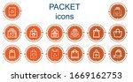 editable 14 packet icons for...   Shutterstock .eps vector #1669162753