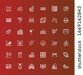 editable 36 logotype icons for... | Shutterstock .eps vector #1669162843