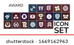 modern simple set of award... | Shutterstock .eps vector #1669162963