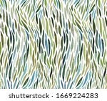 Watercolor Stripes Seamless...