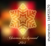abstract christmas background ... | Shutterstock .eps vector #166923170