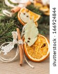 close up image of christmas... | Shutterstock . vector #166924844