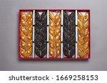 azerbaijan traditional sweet... | Shutterstock . vector #1669258153