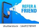 refer a friend  megaphone no...