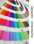 color spectrum pantone sampler | Shutterstock . vector #1669280