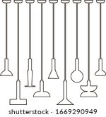 interior furniture icons.... | Shutterstock .eps vector #1669290949