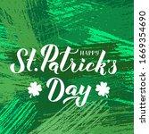 Happy St. Patrick S Day...
