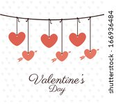 love design over white  ... | Shutterstock .eps vector #166936484