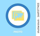photo symbol icon. simple...