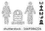 line mosaic based on family... | Shutterstock .eps vector #1669386226