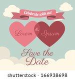 love design over  sky ... | Shutterstock .eps vector #166938698