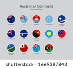 australian continent countries...   Shutterstock .eps vector #1669387843
