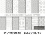 collection of repeatable... | Shutterstock .eps vector #1669398769