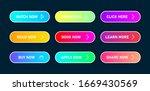 set of vector modern trendy... | Shutterstock .eps vector #1669430569