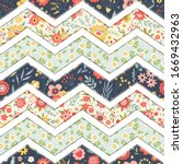 seamless pattern with...   Shutterstock .eps vector #1669432963