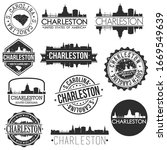 charleston south carolina usa....   Shutterstock .eps vector #1669549639