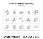 collection of business training ...   Shutterstock .eps vector #1669559119