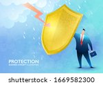 Business Protection Concept....